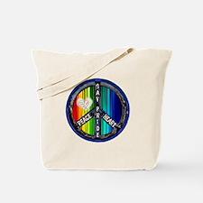 PEACE HEART GAY PRIDE Tote Bag