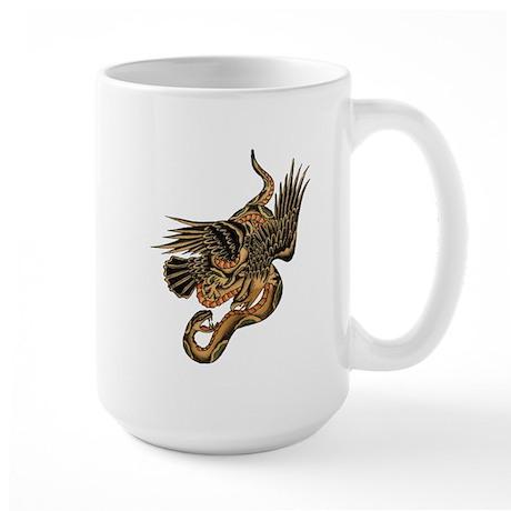 1920's Eagle & Snake Large Mug