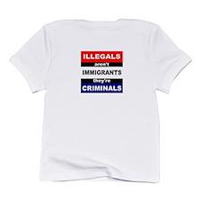 SEND THEM BACK Infant T-Shirt