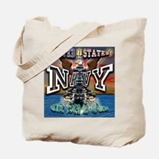 US Navy Sea is Ours Tote Bag