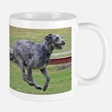 irish wolfhound in motion Mugs