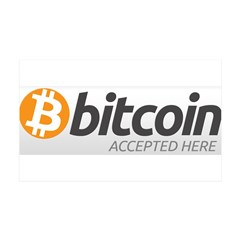 Bitcoins-7 38.5 x 24.5 Wall Peel