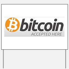 Bitcoins-7 Yard Sign