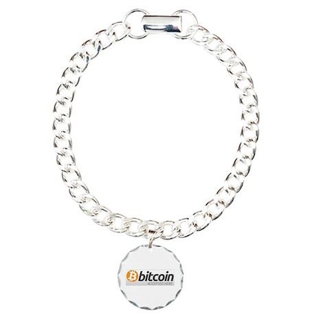 Bitcoins-7 Charm Bracelet, One Charm