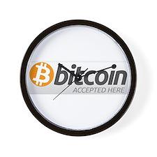 Bitcoins-7 Wall Clock