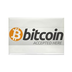 Bitcoins-7 Rectangle Magnet (10 pack)