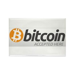 Bitcoins-7 Rectangle Magnet