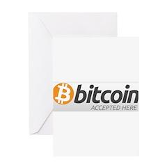 Bitcoins-7 Greeting Card