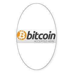 Bitcoins-7 Decal