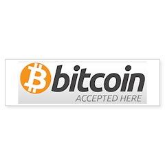 Bitcoins-7 Bumper Sticker