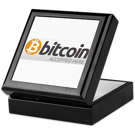 Bitcoins-7 Keepsake Box
