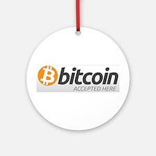 Bitcoins-7 Ornament (Round)