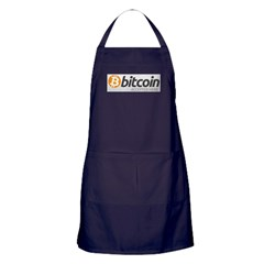 Bitcoins-7 Apron (dark)
