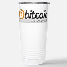 Bitcoins-7 Stainless Steel Travel Mug