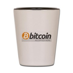 Bitcoins-7 Shot Glass