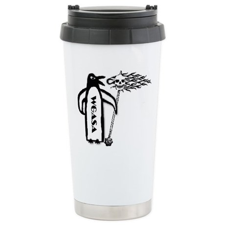 Stainless Steel Travel Mug Made Out Of EARTH!