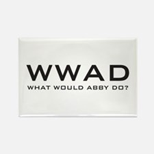 What Would Abby Do? Rectangle Magnet