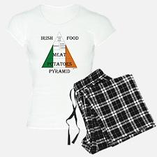 Irish Food Pyramid Pajamas