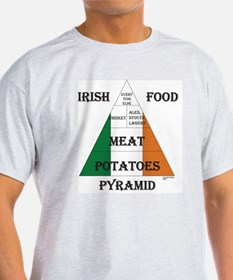 Irish Food Pyramid T-Shirt