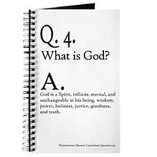 Westminster Shorter Catechism Question 4 - Journal
