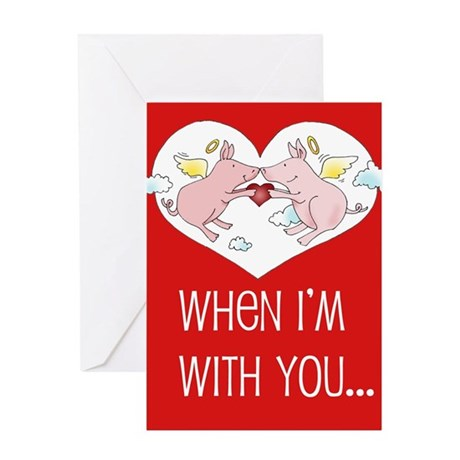 """""""Love is a Funny Thing"""" Valentine Card"""