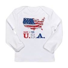 Made in the U.S.A. Long Sleeve Infant T-Shirt