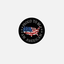 Proud to be an American Mini Button