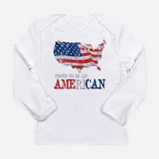 God Bless America Long Sleeve Infant T-Shirt
