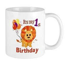 1st Birthday Lion Mug