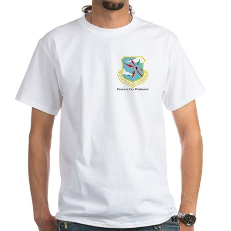 B-52 Statofortress SAC Emblem White T-Shirt