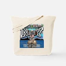 USN Navy Tin Can Sailor Tote Bag