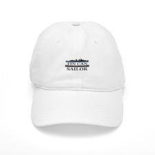 USN Tin Can Sailor Silhouette Cap