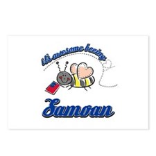 Awesome Being Samoan Postcards (Package of 8)
