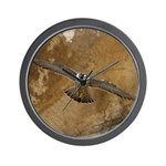 Untamed Spirit 3 Wall Clock