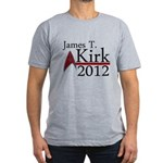 James Kirk 2012 Men's Fitted T-Shirt (dark)