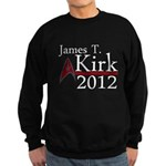 James Kirk 2012 Sweatshirt (dark)