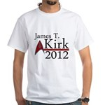 James Kirk 2012 White T-Shirt