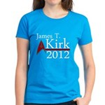 James Kirk 2012 Women's Dark T-Shirt