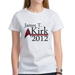 James Kirk 2012 Women's T-Shirt