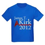 James Kirk 2012 Kids Dark T-Shirt