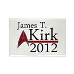 James Kirk 2012 Rectangle Magnet (10 pack)