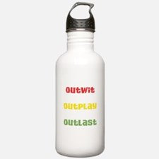 Outwit, Outlast, Outplay Rast Water Bottle