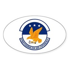 702d Airlift Squadron Oval Decal