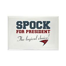 Spock for President Rectangle Magnet (100 pack)