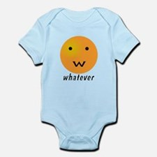 Funny Whatever Smiley Infant Bodysuit