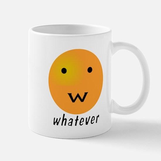 Funny Whatever Smiley Mug