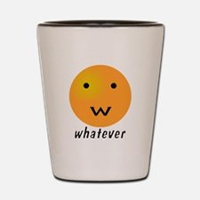 Funny Whatever Smiley Shot Glass