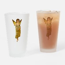 Golden Fairy Pint Glass