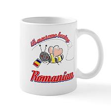 Awesome Being Romanian Mug