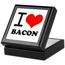 I Love Bacon Keepsake Box